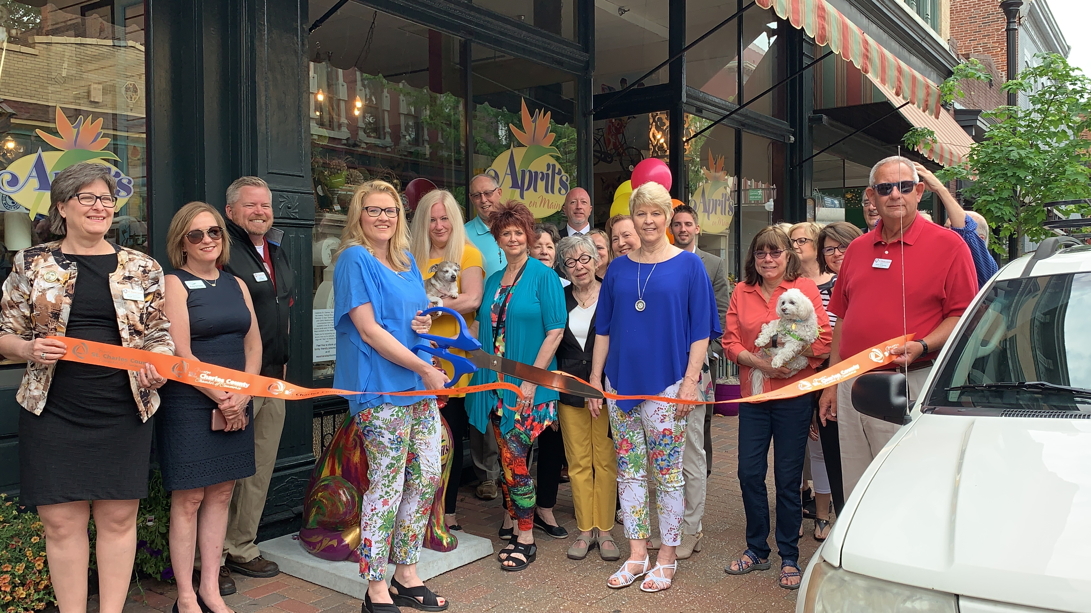 Image for April's on Main Celebrates  Finalist Nomination with Ribbon Cutting
