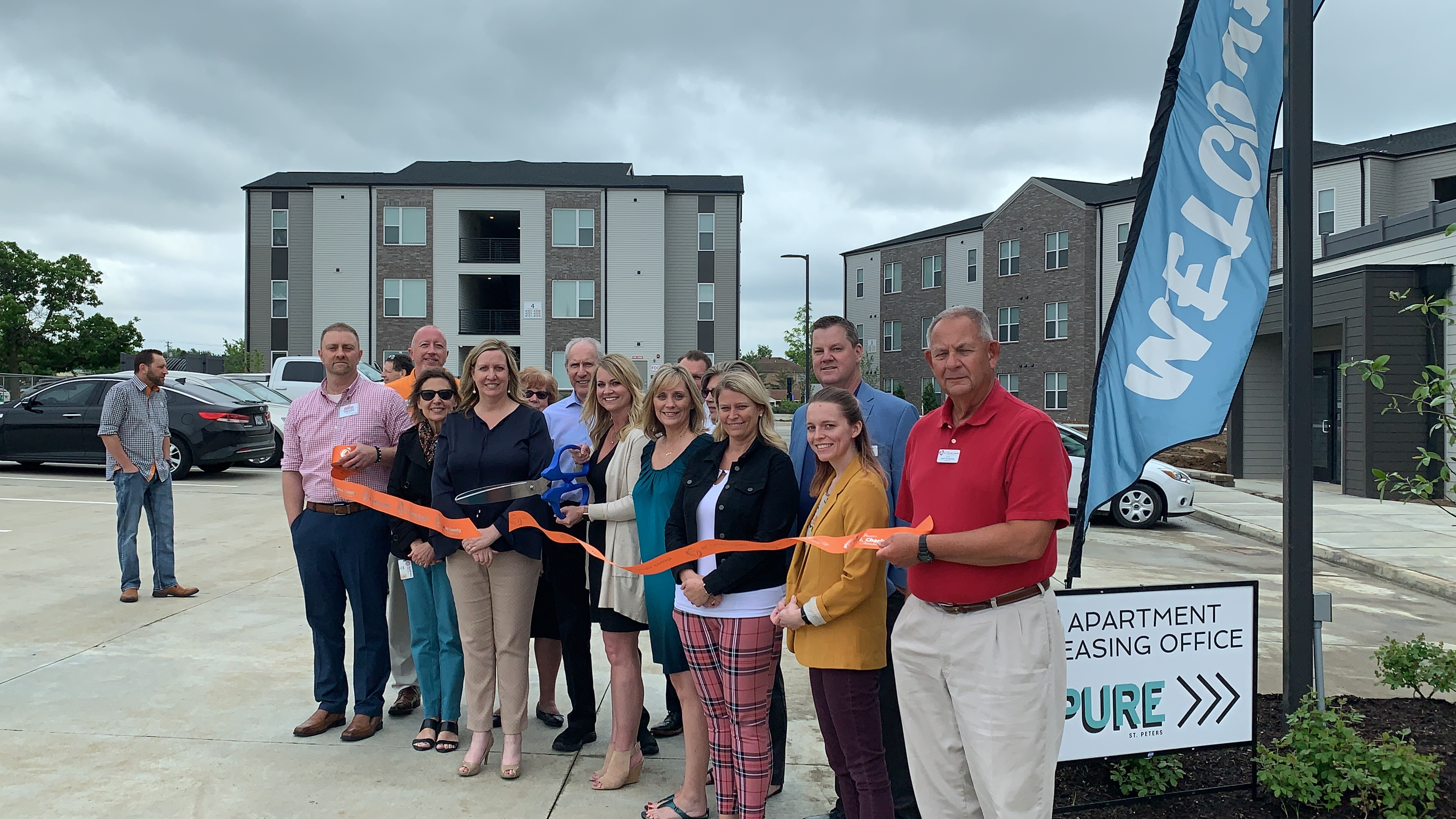 Pure St. Peters Apartments Celebrates  Grand Opening with Ribbon Cutting