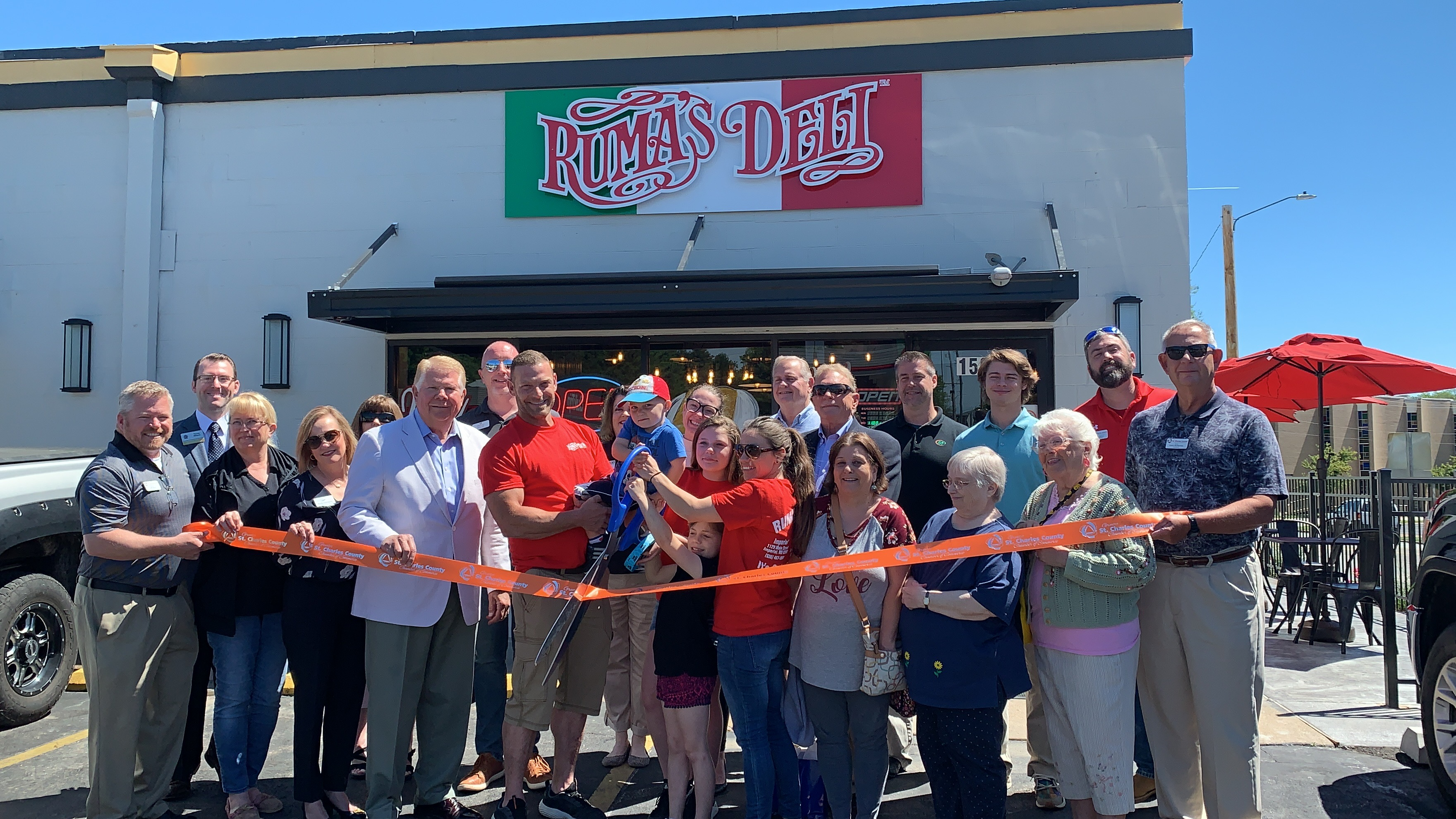 Image for Ruma's Deli Celebrates Grand Opening with Ribbon Cutting