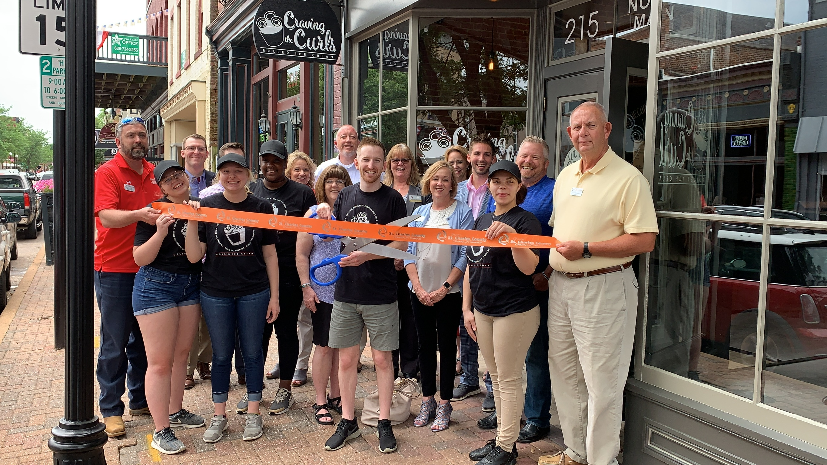 Image for Craving the Curls Rolled Ice Cream Celebrates Grand Opening with Ribbon Cutting