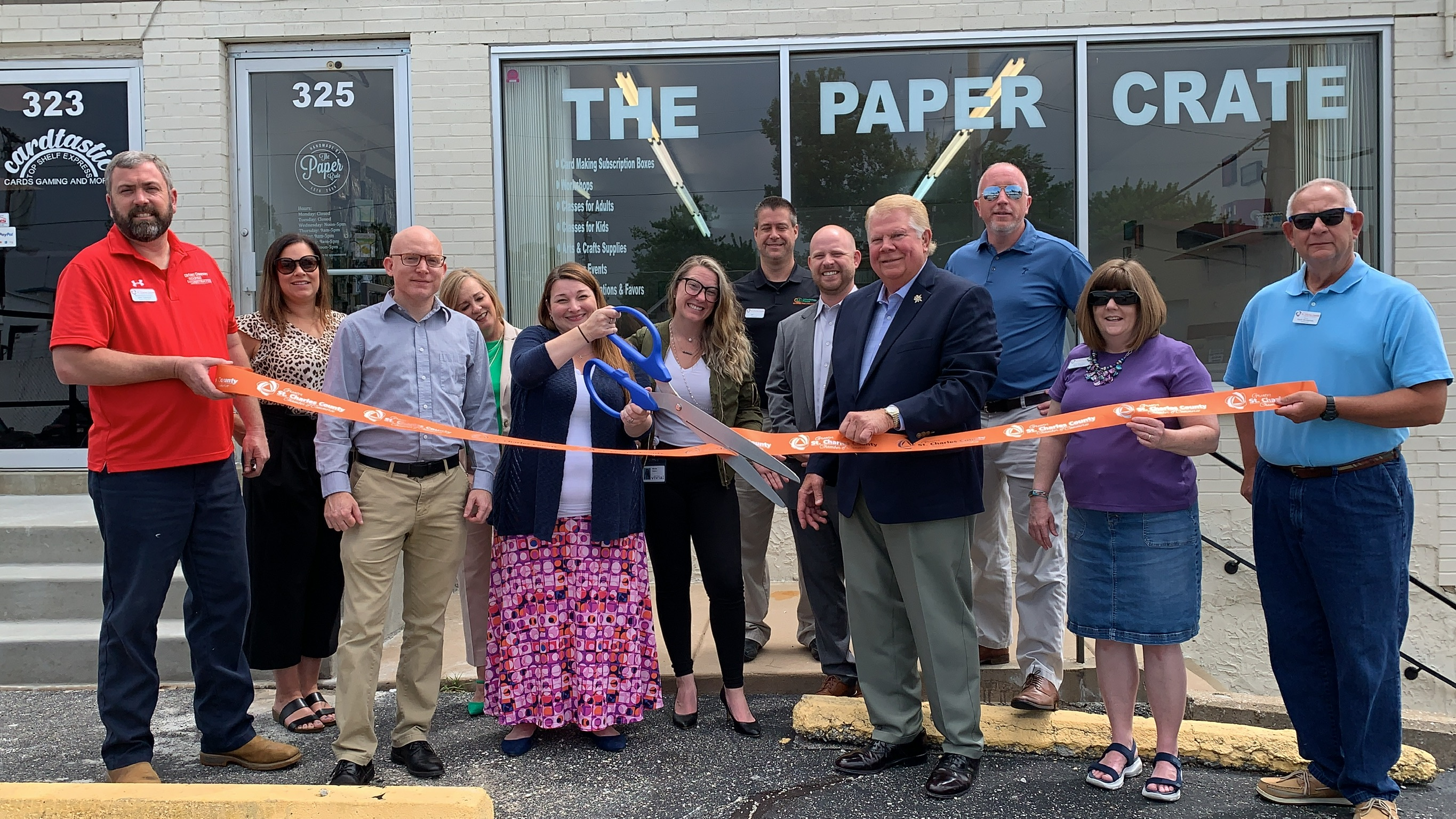 The Paper Crate Celebrates Grand Opening with Ribbon Cutting
