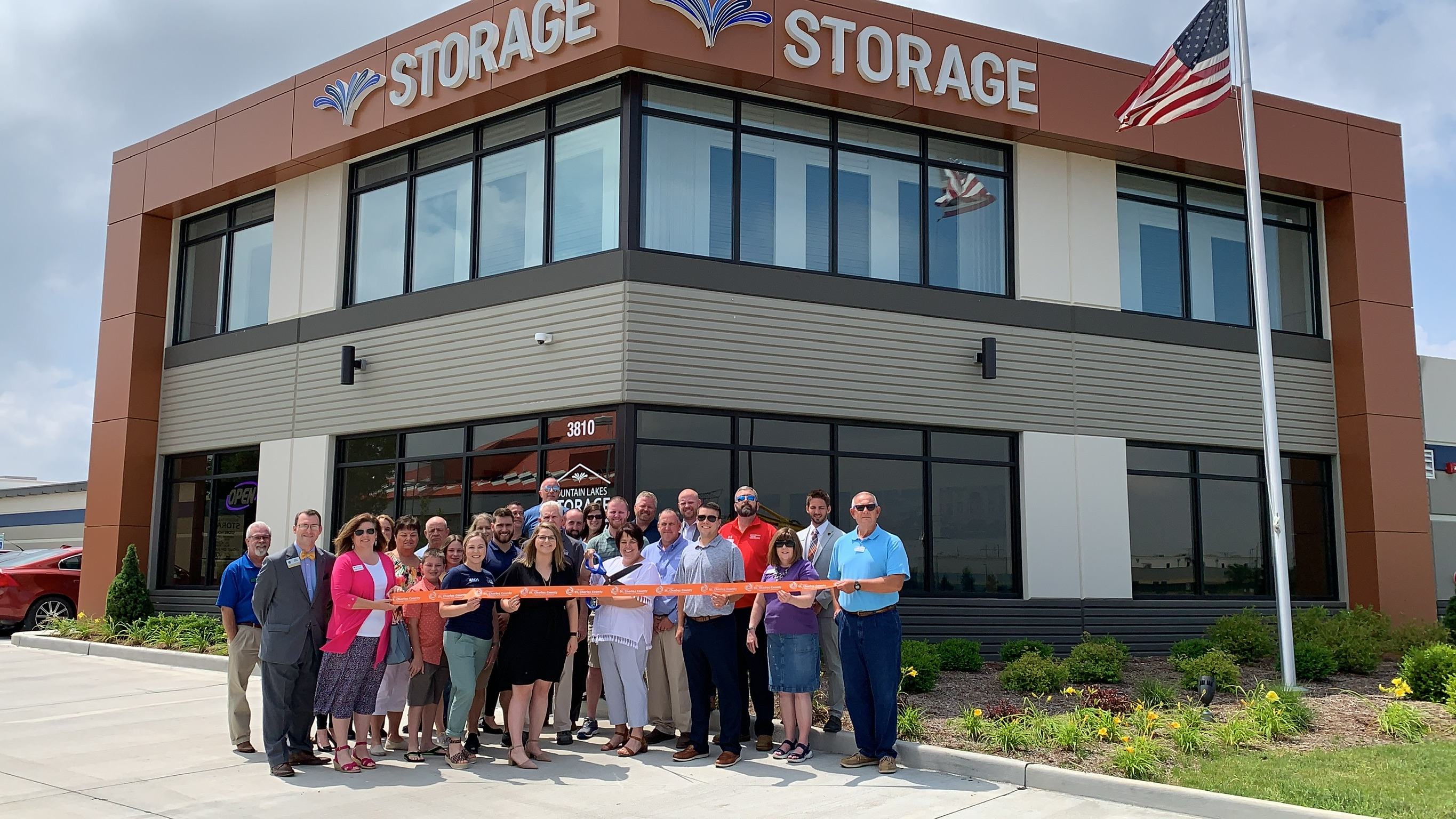 Image for Fountain Lakes Storage Celebrates Grand Opening with Ribbon Cutting