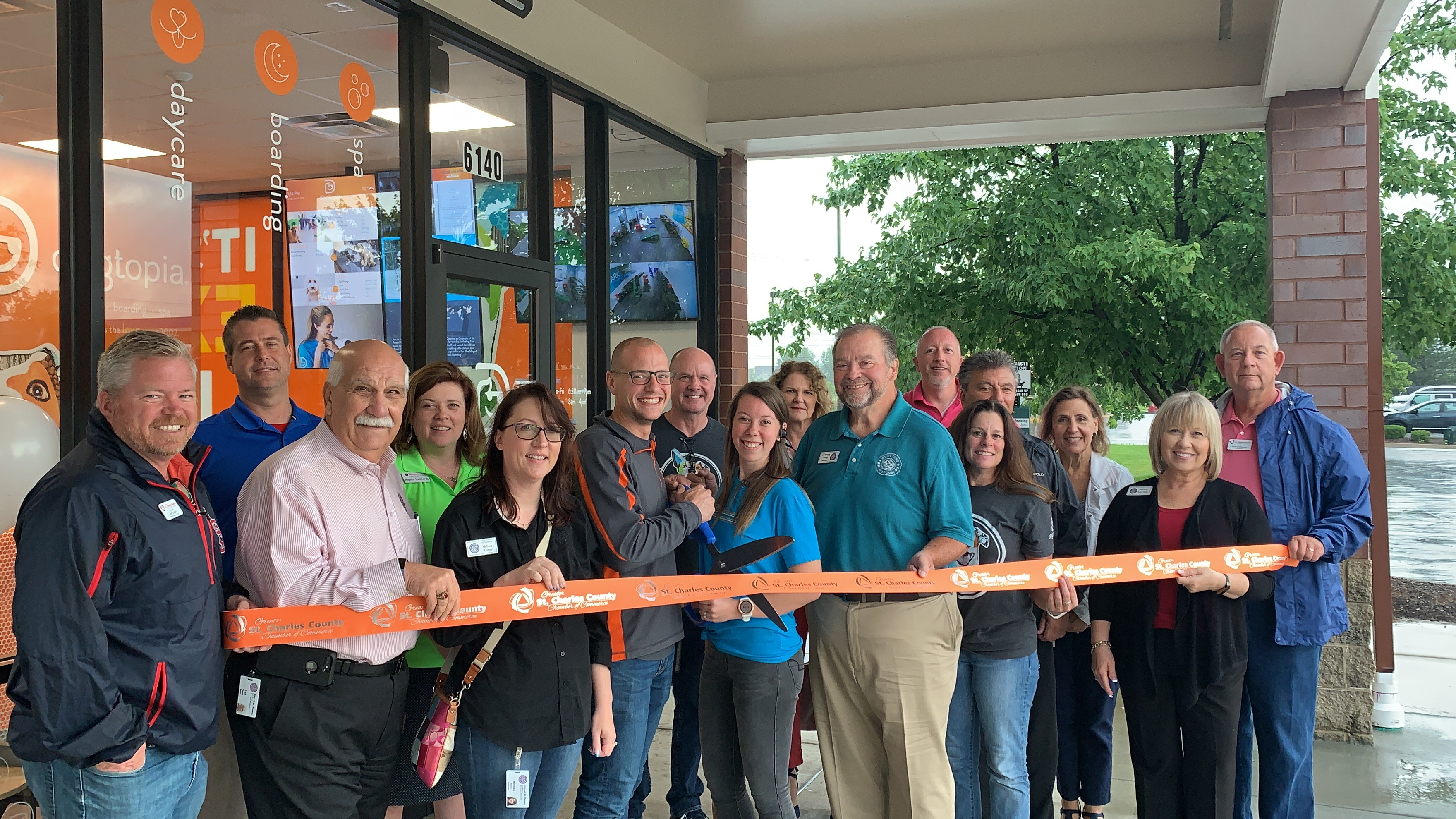 Image for Dogtopia of St. Peters Celebrates Grand Opening with Ribbon Cutting