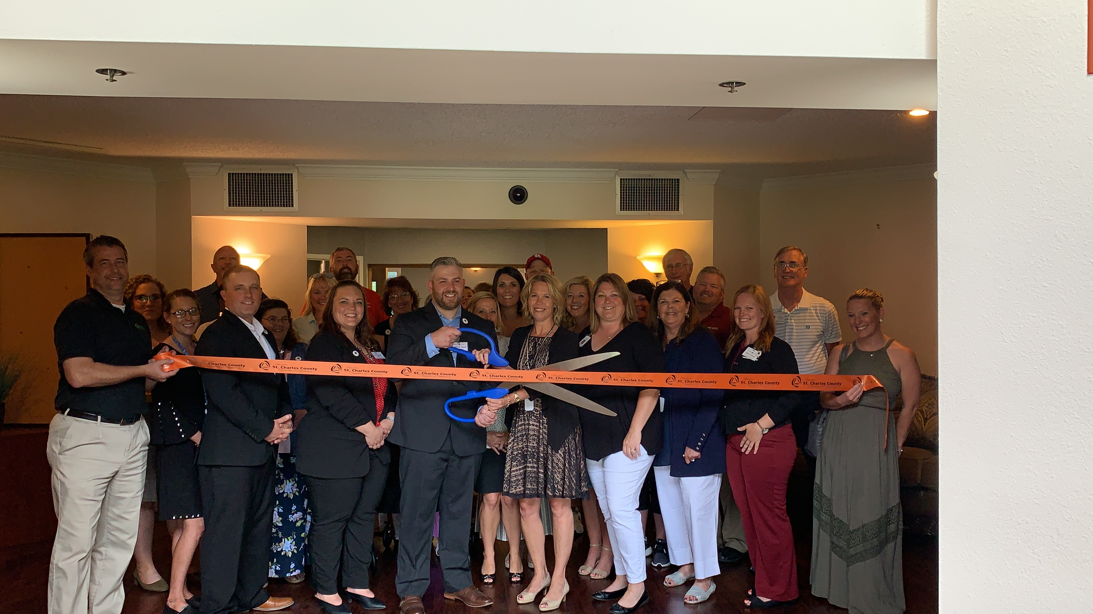 Image for Windsor Estates Celebrates Partnership with Envision Health & Wellness with Ribbon Cutting