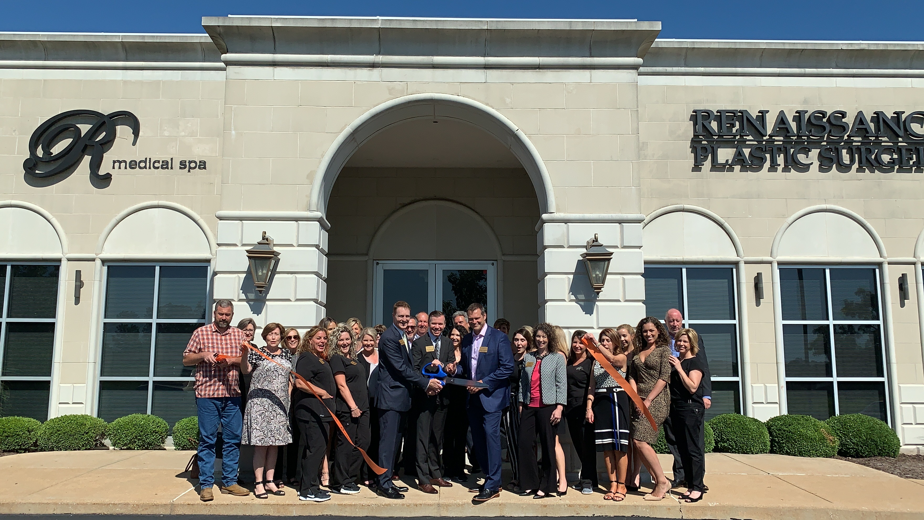 Renaissance Plastic Surgery Celebrates 20th anniversary with Ribbon Cutting