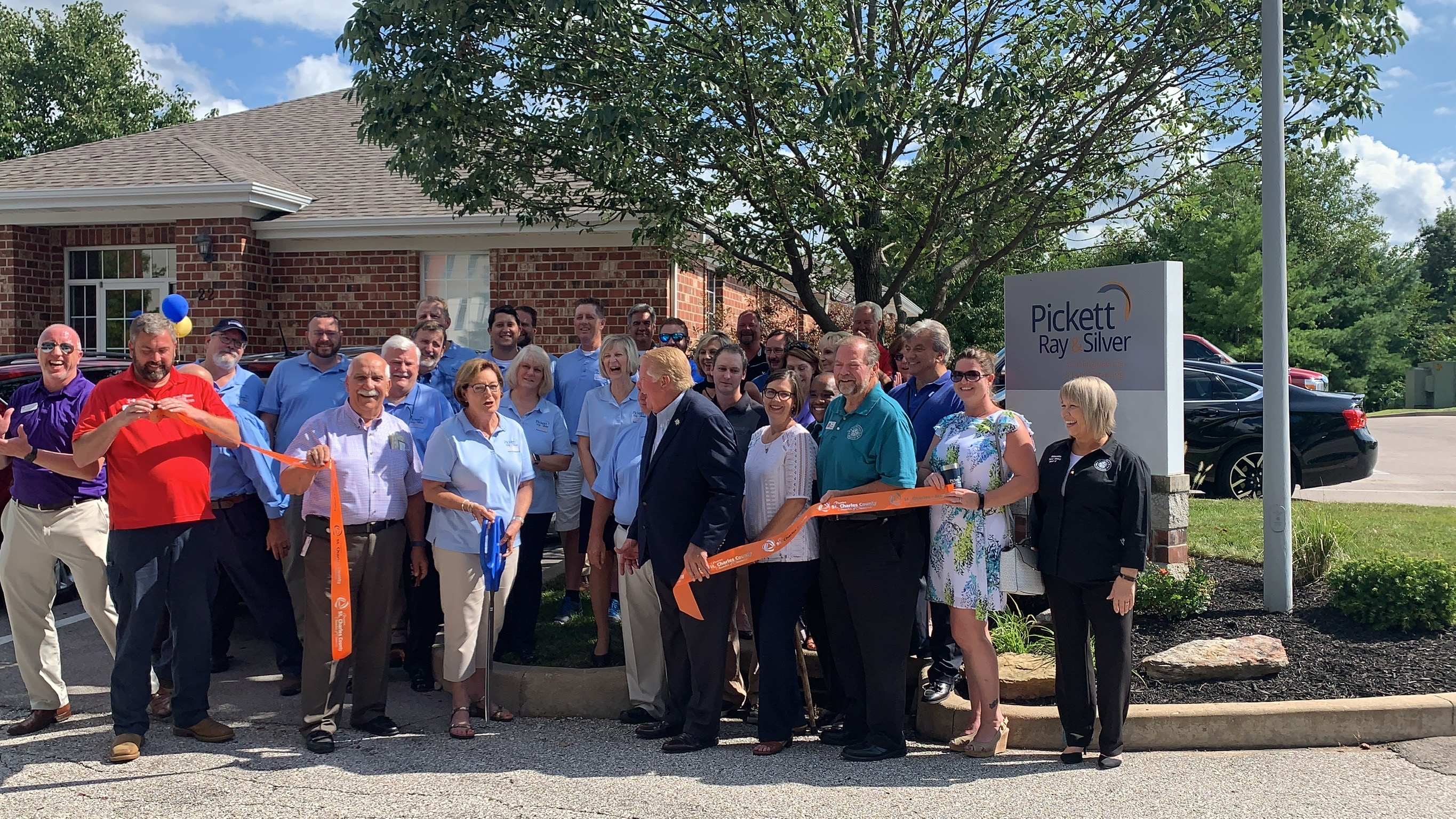 Image for Pickett, Ray & Silver, Inc. Celebrates  50th Anniversary with Ribbon Cutting
