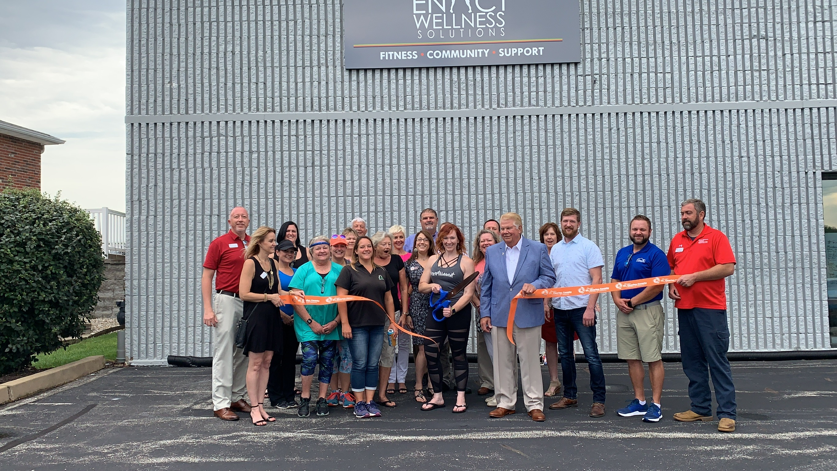 Enact Wellness Solutions Celebrates Grand Opening with Ribbon Cutting Dedication
