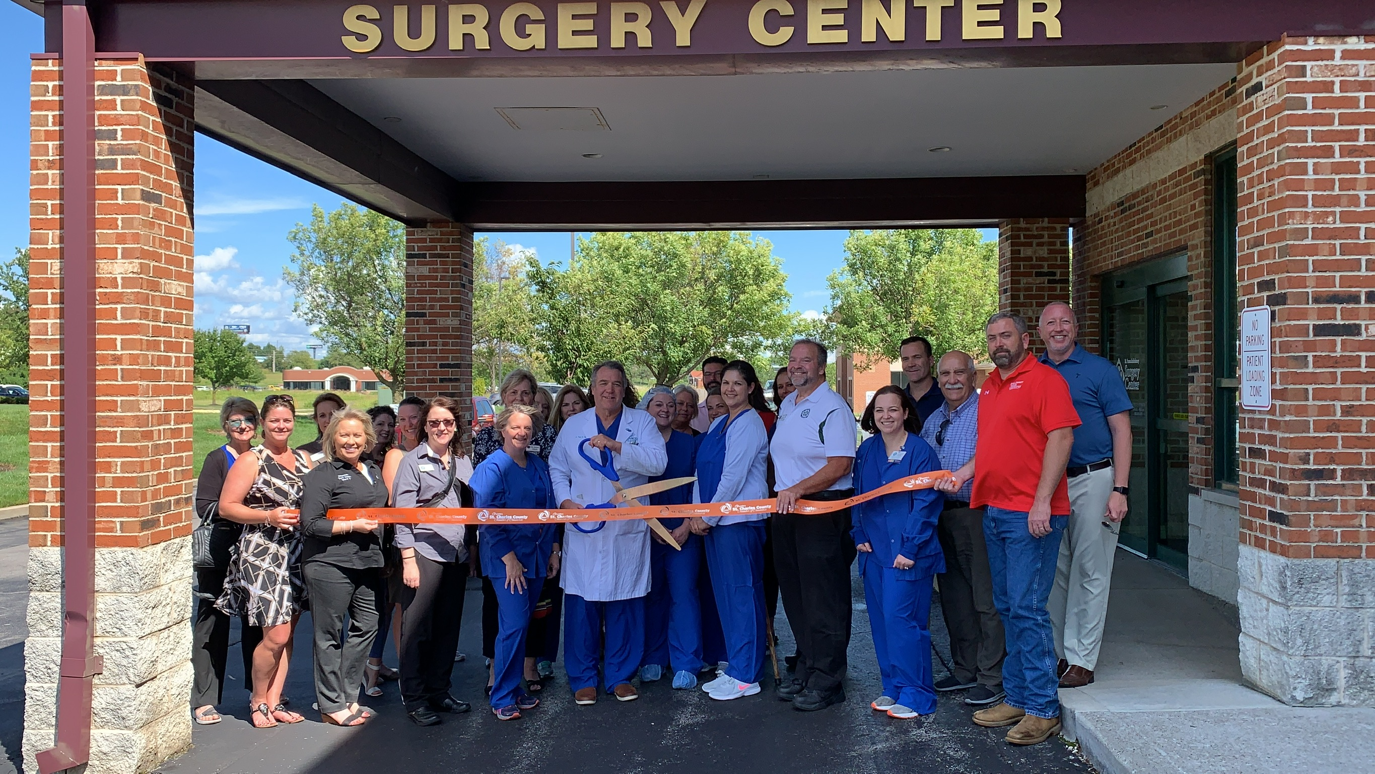 Image for Novamed Surgery of St. Peters / St. Peters Ambulatory Surgery Center Celebrates 20th anniversary with Ribbon Cutting