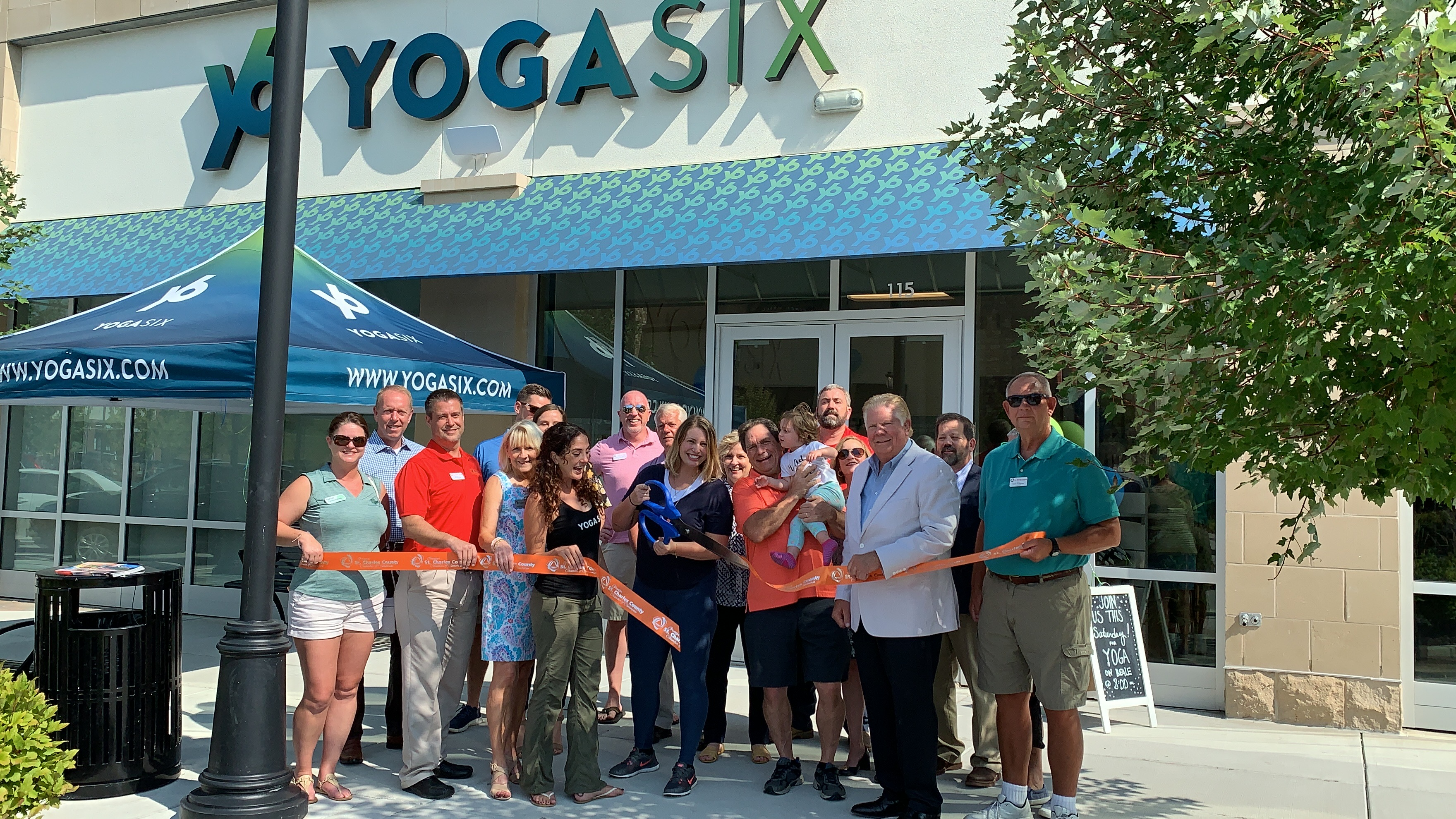Image for YogaSix Celebrates Grand Opening with Ribbon Cutting Celebration