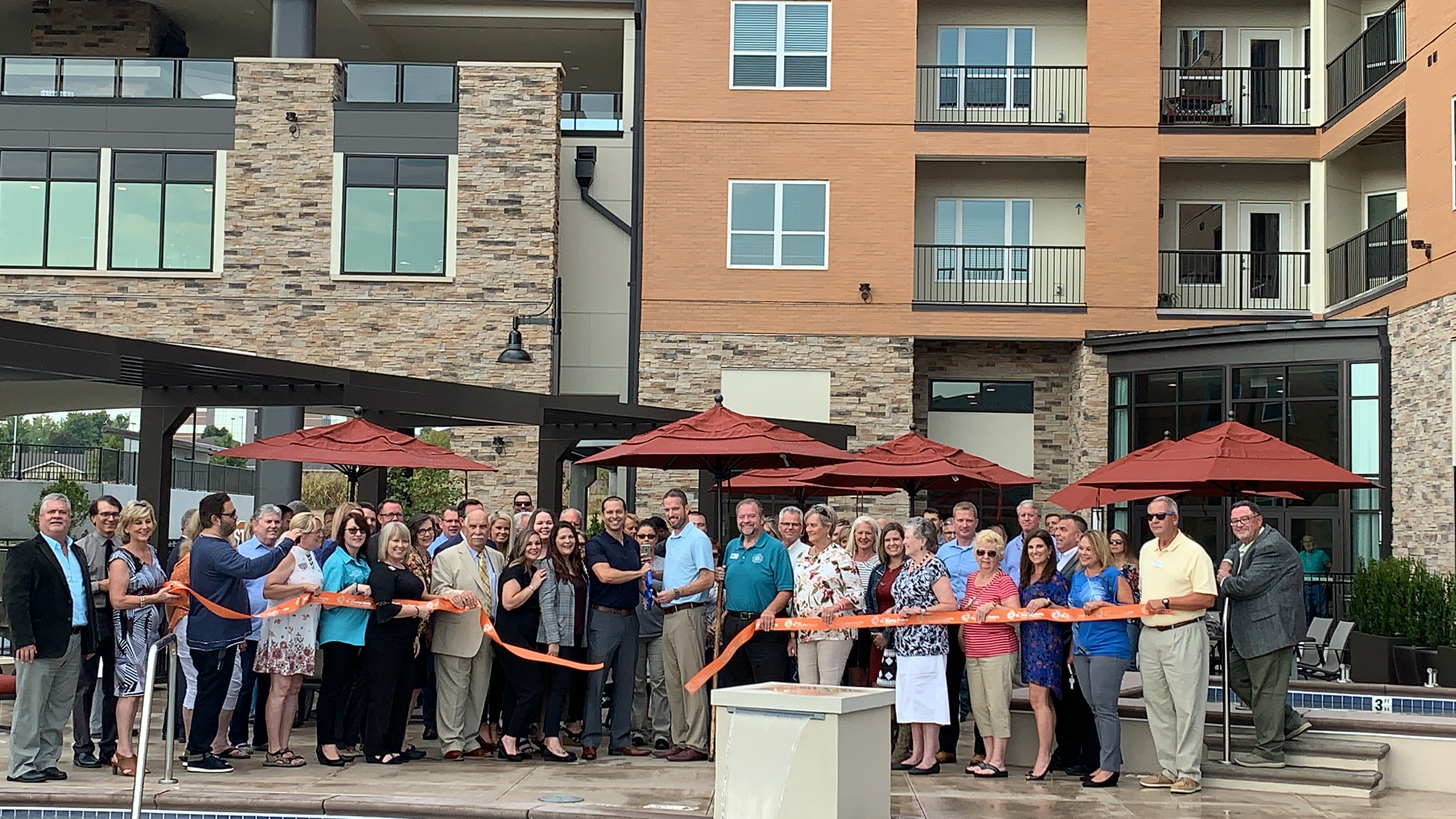 5300 Centre Luxury Apartments Celebrates  Grand Opening with Ribbon Cutting