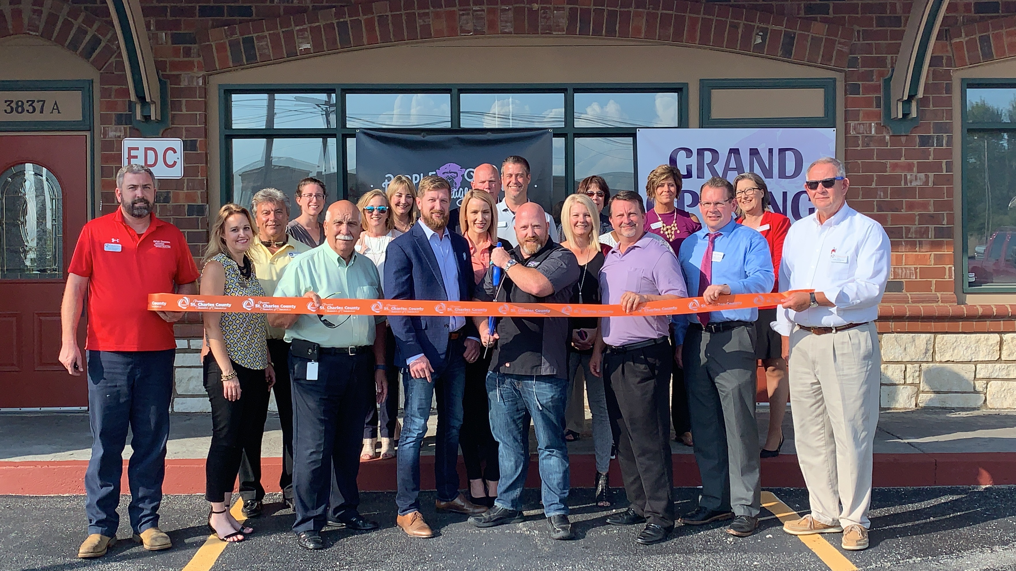 Image for Purple Monkey Garage Celebrates  Grand Opening with Ribbon Cutting