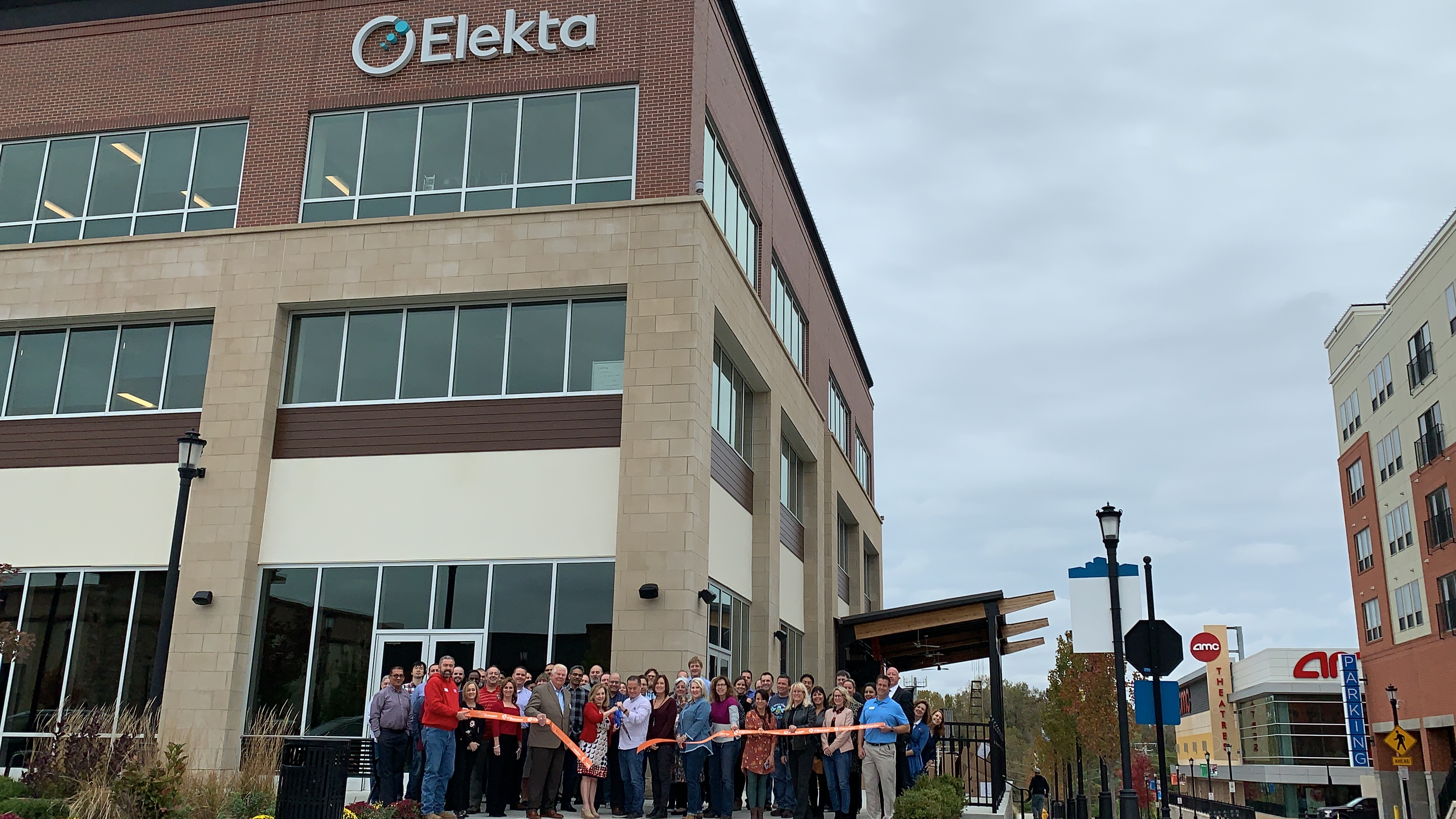 Image for Elekta, Inc. Celebrates  Grand Opening with Ribbon Cutting