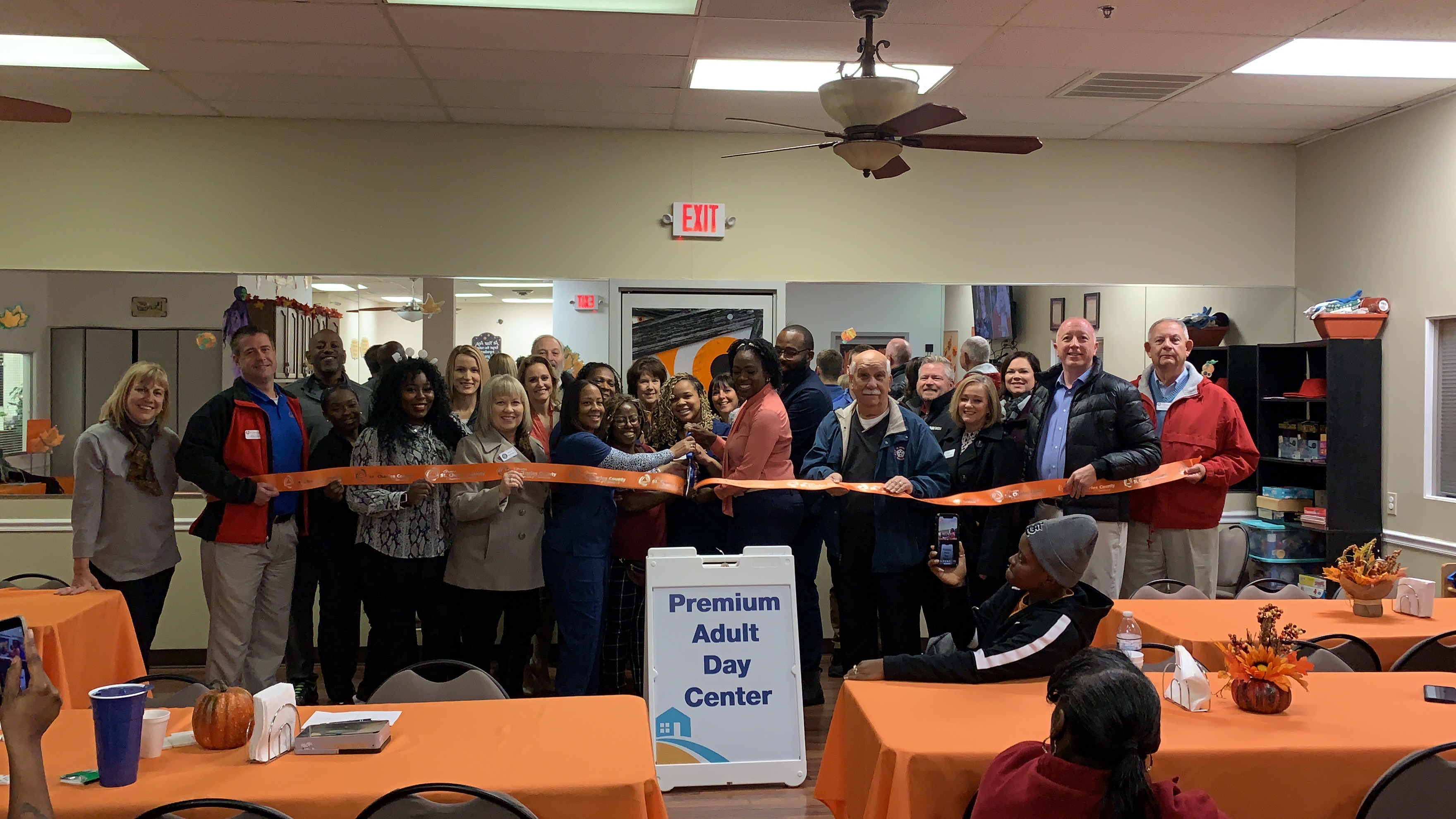 Premium Adult Day Center Celebrates  Grand Opening with Ribbon Cutting