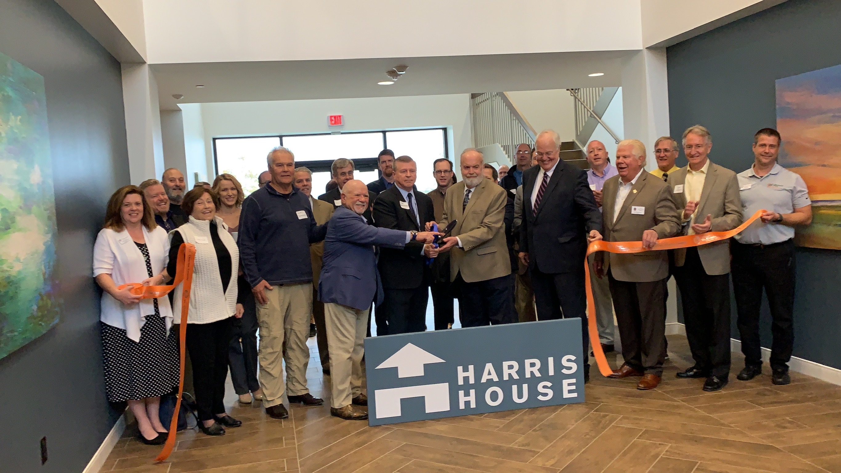 Harris House Celebrates  Grand Opening with Ribbon Cutting