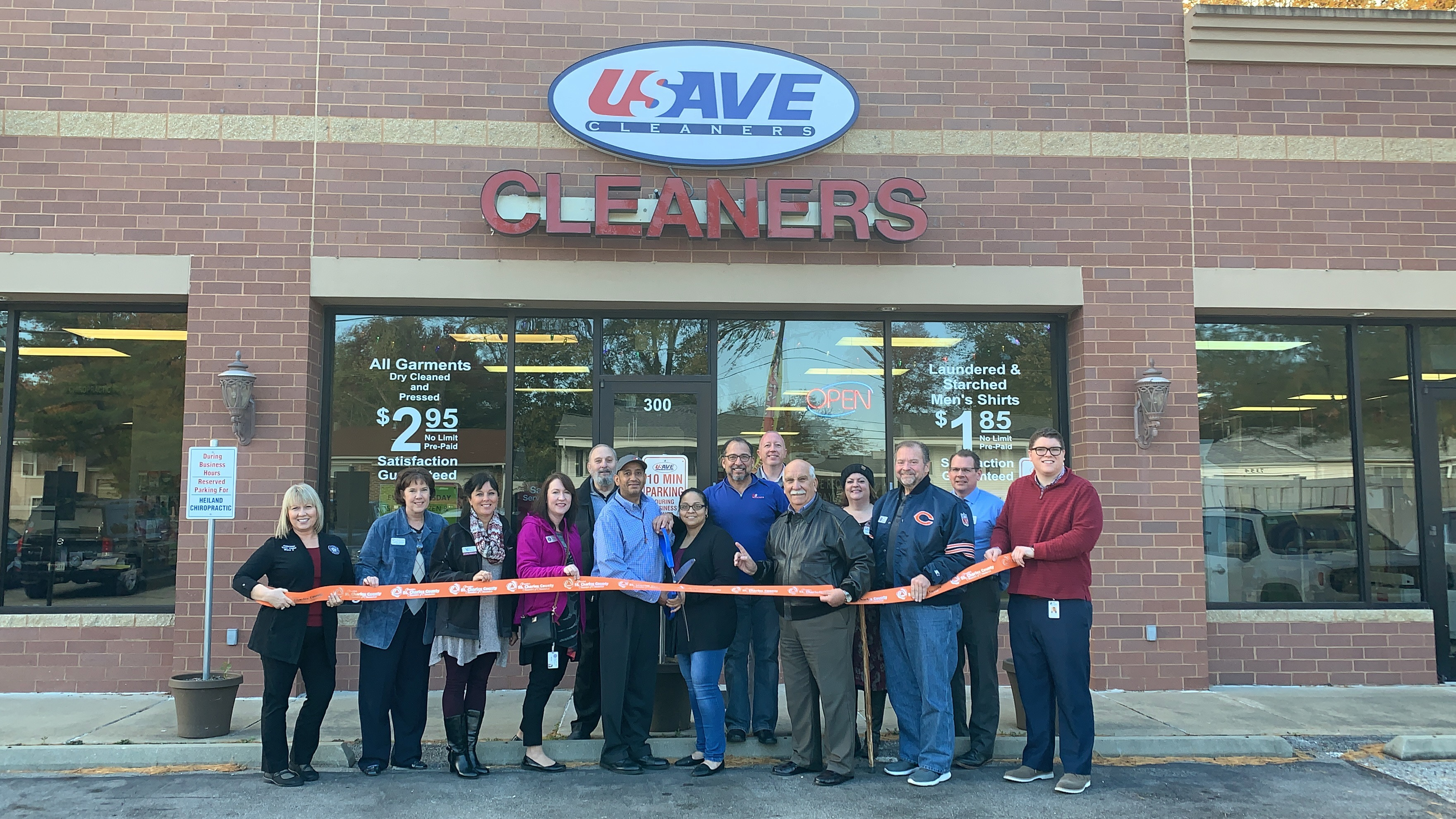 Image for USave Cleaners Celebrates  Grand Opening with Ribbon Cutting