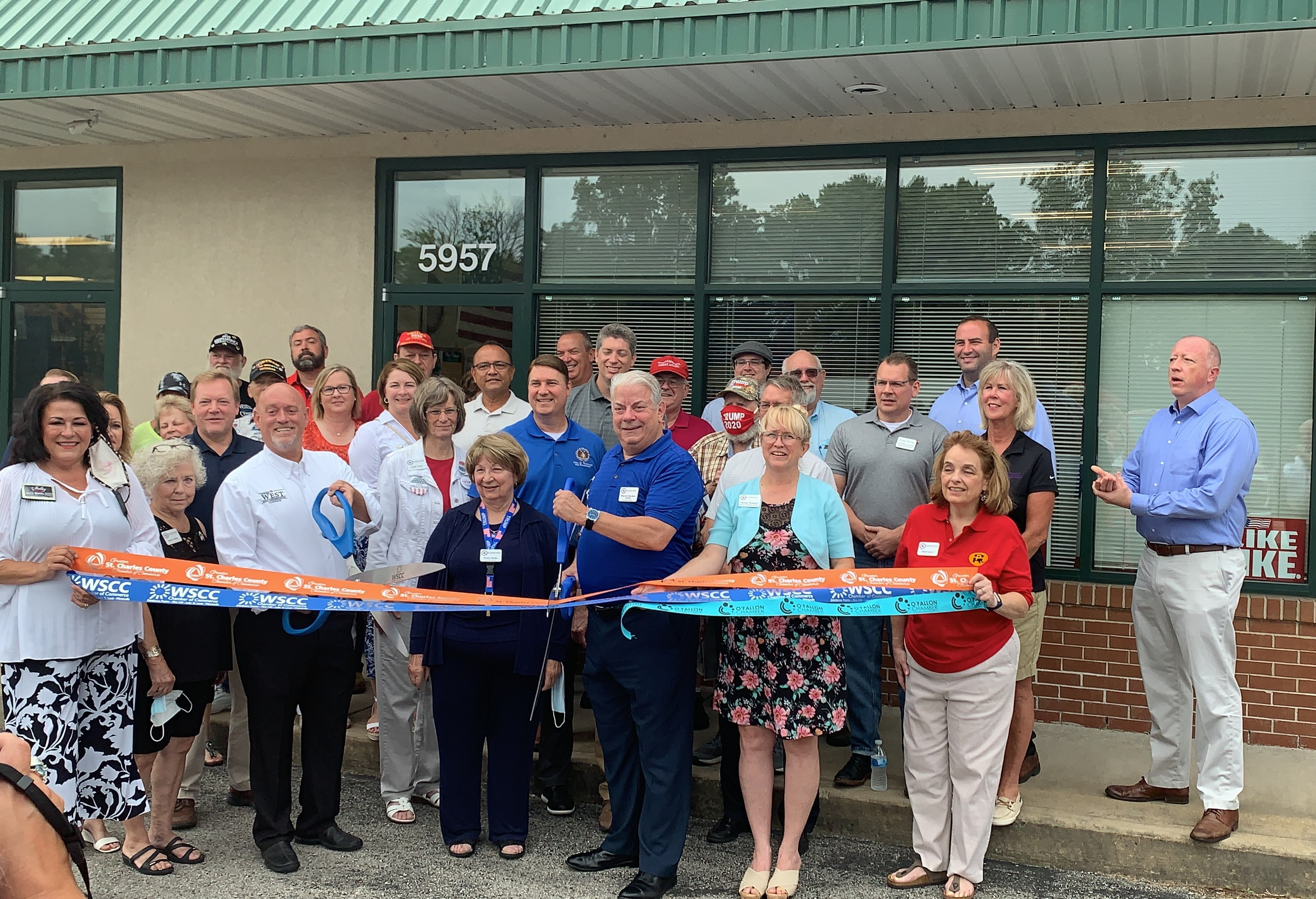 St. Charles County Republican Central Committee Celebrates New Office with Ribbon Cutting