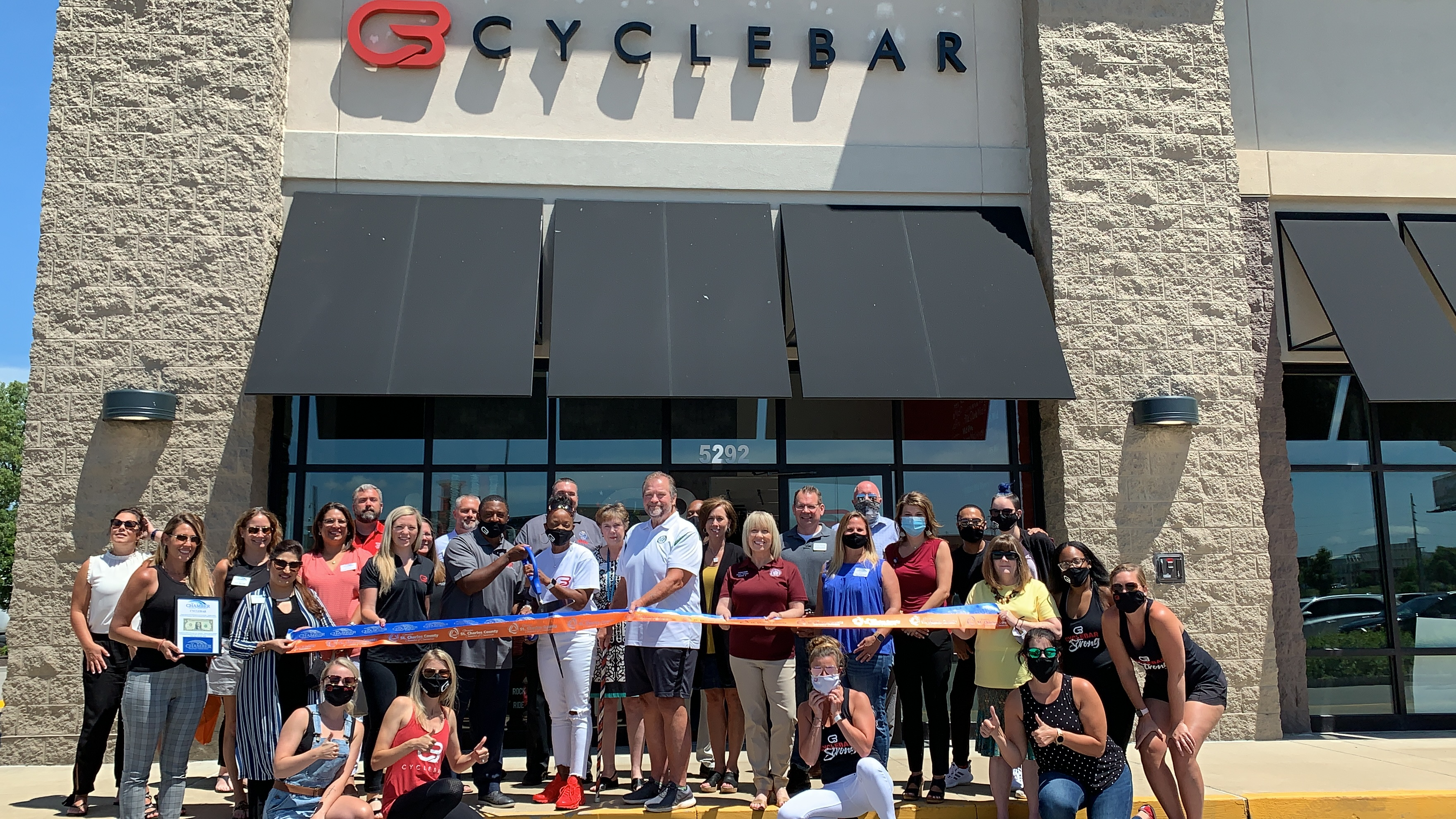 Image for CycleBar Mid Rivers Celebrates Grand Opening with Ribbon Cutting