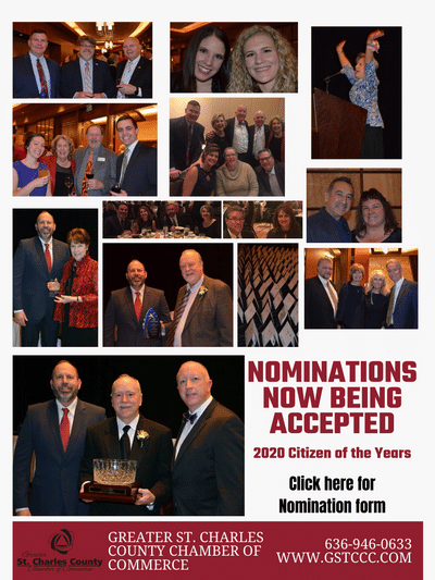 Image for Greater St. Charles County Chamber of Commerce Seeking Nominations For Citizen of the Years/ Lifetime Distinguished Service Awards
