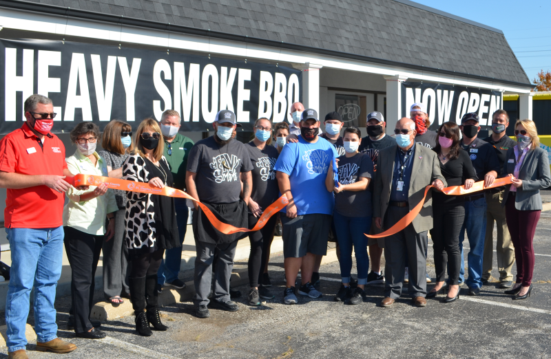 Image for Heavy Smoke BBQ Celebrates Grand Opening with Ribbon Cutting