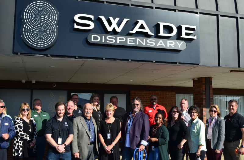 Image for Swade Cannabis Celebrates Grand Opening with Ribbon Cutting