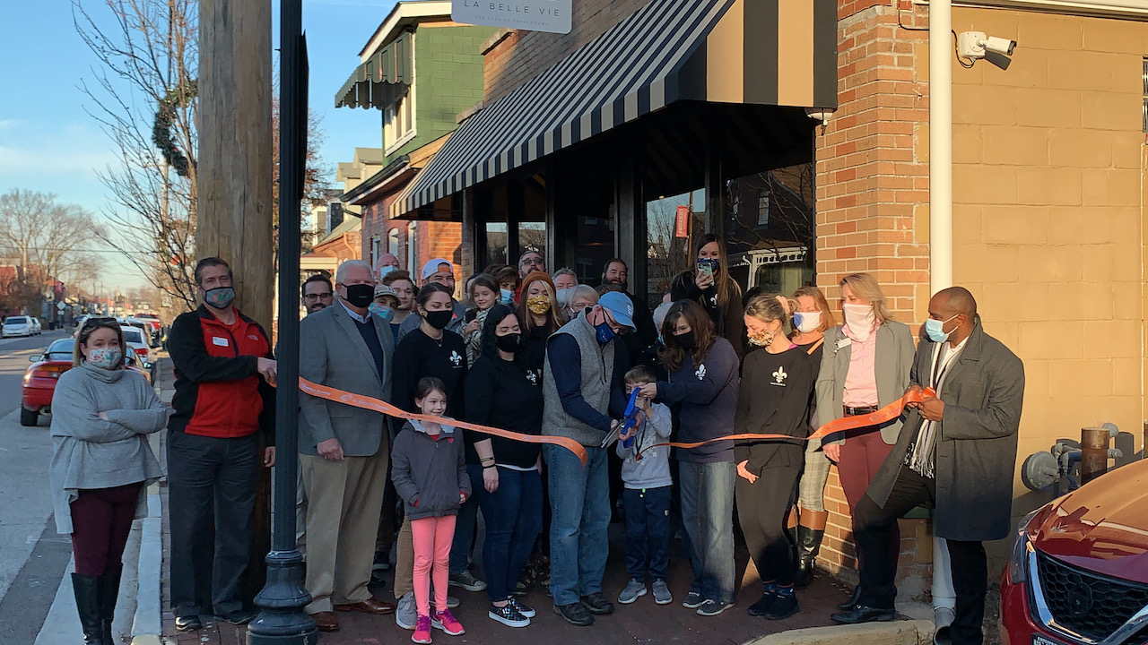 La Belle Vie / The Café at Frenchtown Celebrates Grand Opening with Ribbon Cutting
