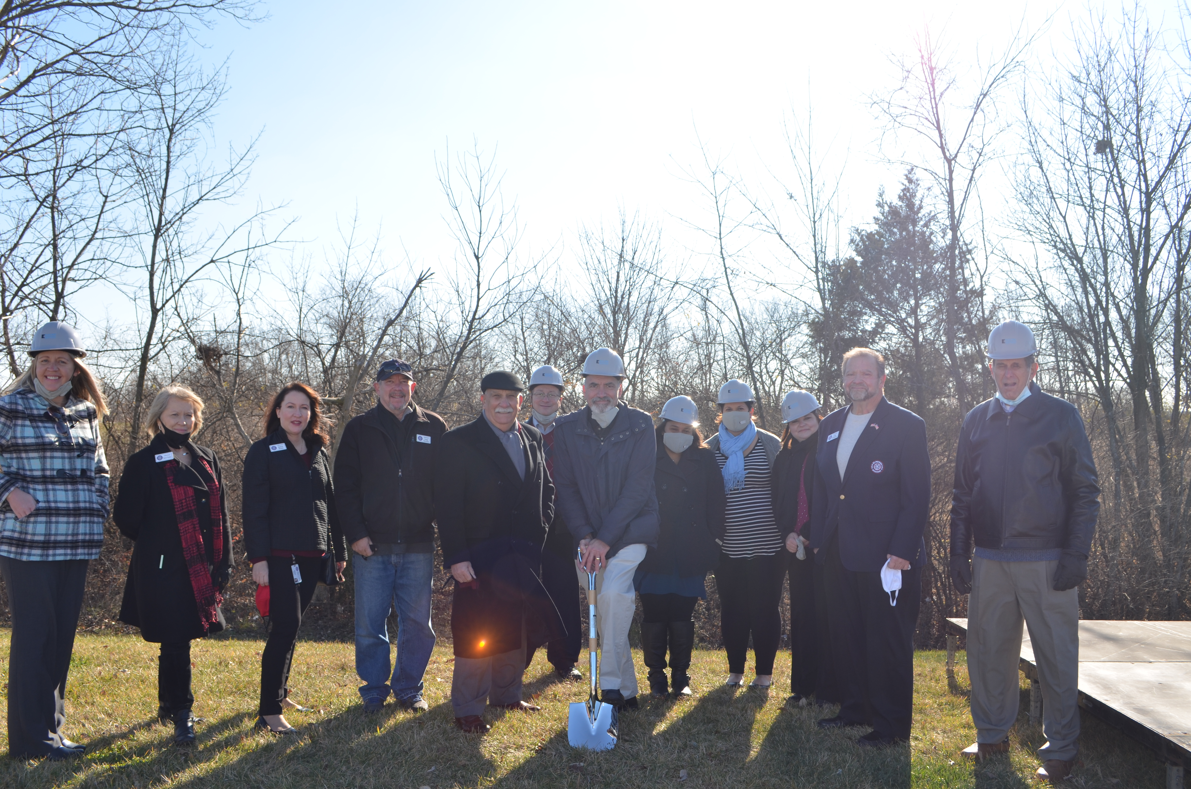 Image for Electro Savings Credit Union Marks New Construction with Ground Breaking