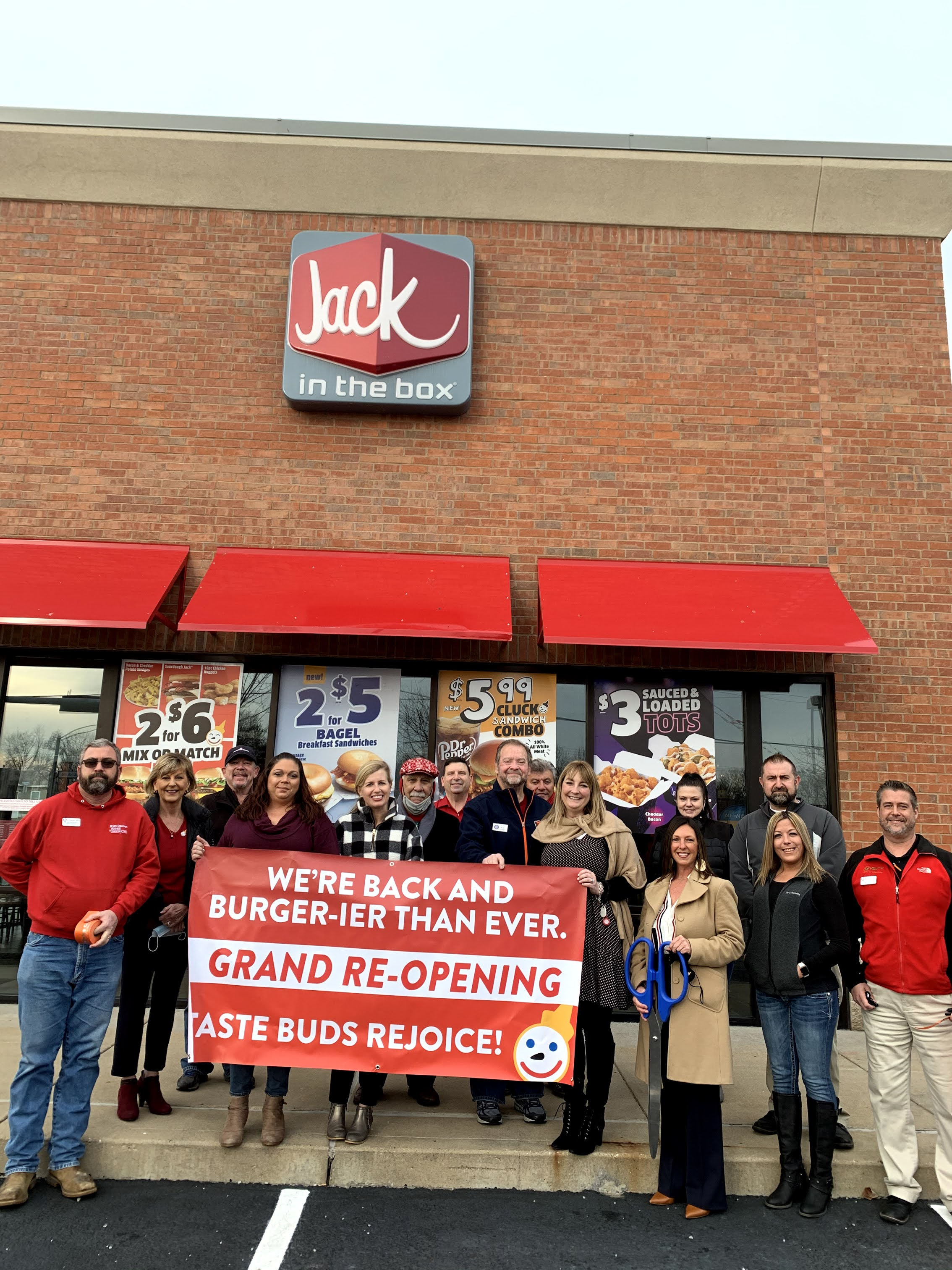 Image for Jack in the Box Celebrates Grand Re-Opening with Ribbon Cutting