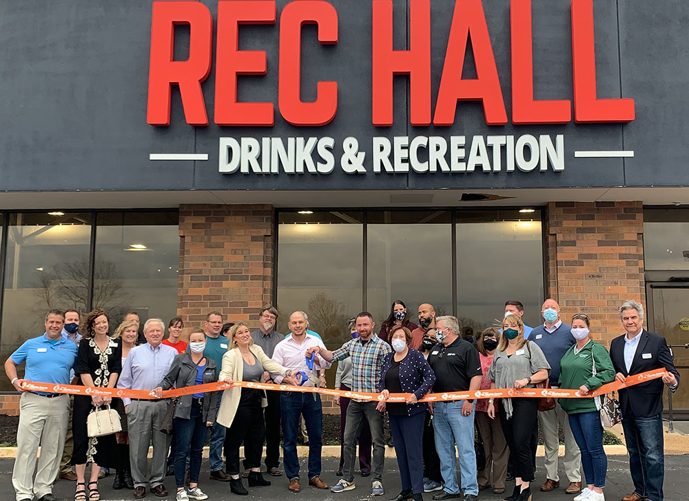 Rec Hall STL Celebrates Grand Opening with Ribbon Cutting