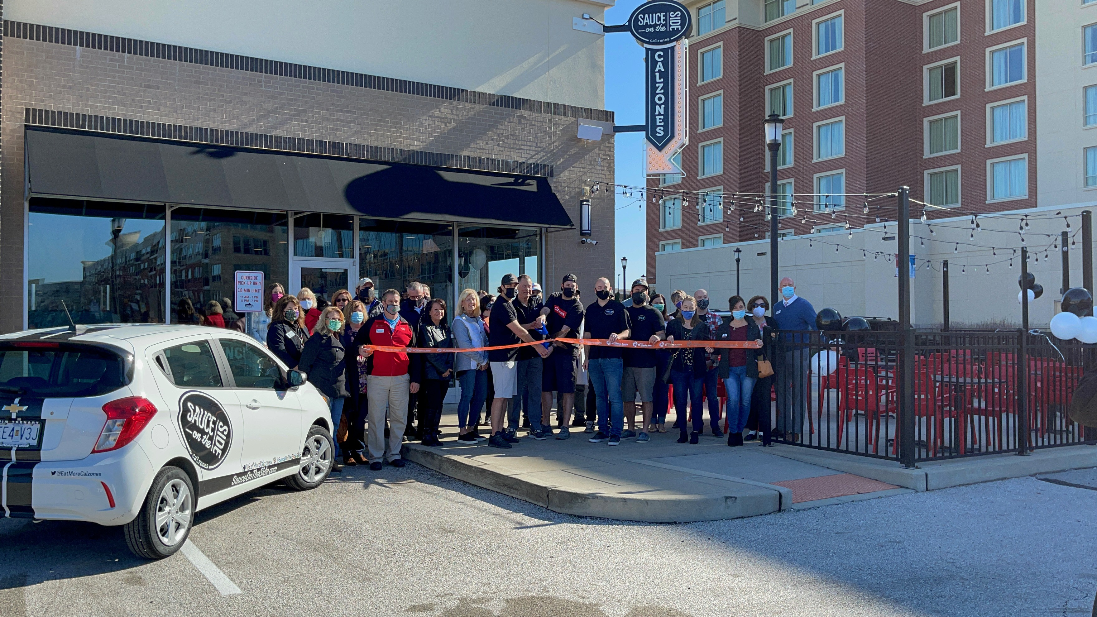 Image for Sauce on the Side Celebrates Grand Opening with Ribbon Cutting
