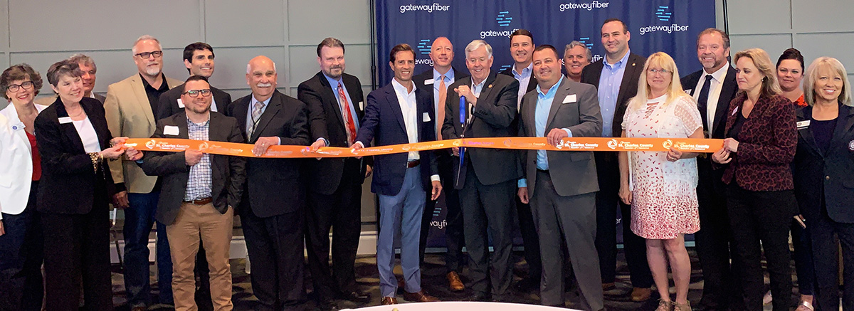 Image for Gateway Fiber Celebrates Arrival to the Region with Ribbon Cutting