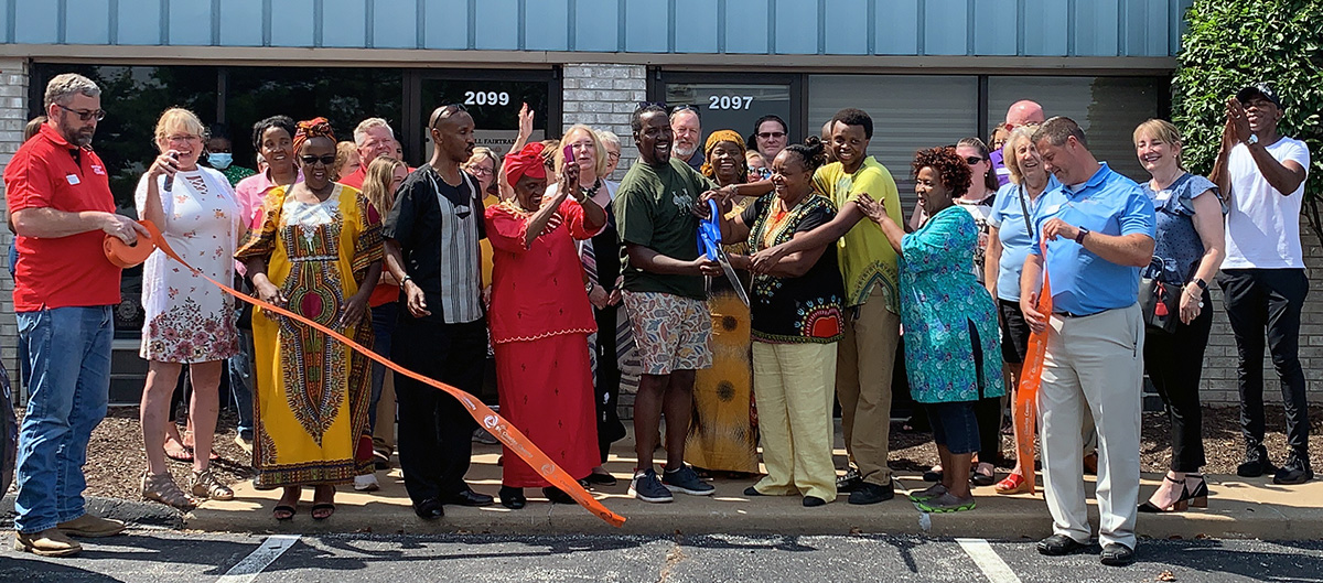 Image for Gitzell FairTrade International Celebrates Grand Opening with Ribbon Cutting
