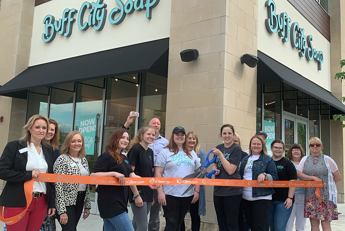 Image for Buff City Soap Celebrates Grand Opening with Ribbon Cutting