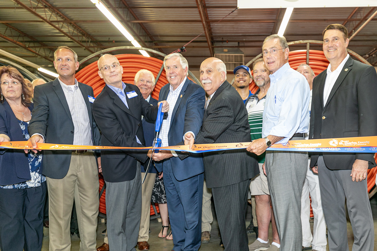 Image for i3 Broadband Celebrates Local Launch in St. Charles County with Ribbon Cutting