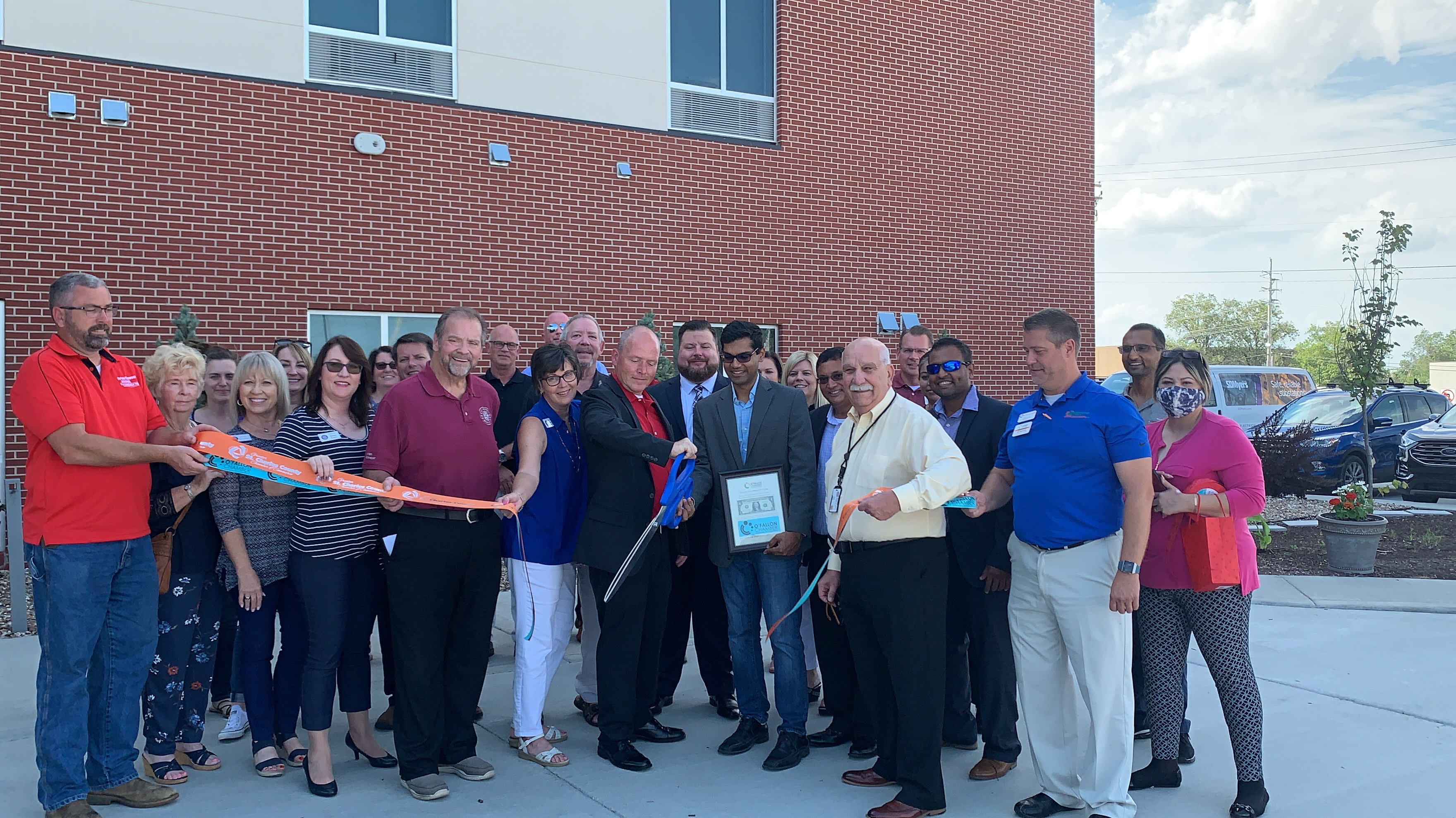 Image for Holiday Inn Express & Suites St. Peters Celebrates Grand Opening with Ribbon Cutting