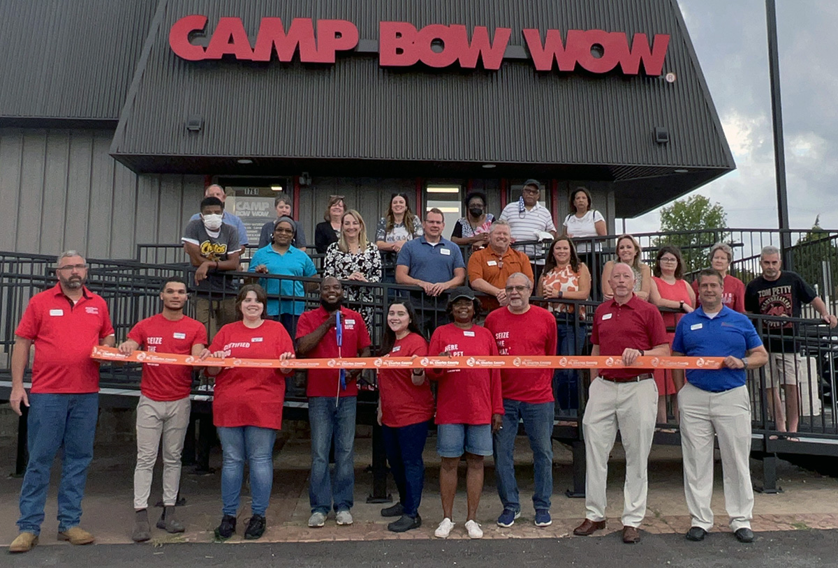 Image for Camp Bow Wow Celebrates Grand Opening with Ribbon Cutting