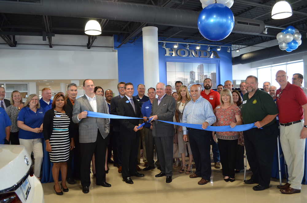 Ed Napleton Honda Celetes New Showroom with Ribbon Cutting ...