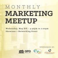 May's Monthly Marketing MeetUP