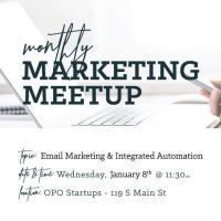 POSTPONED - Monthly Marketing MeetUp