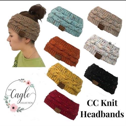 CC Knit Headbands