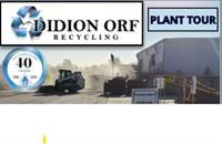 Didion Orf Recycling Facility Tour - Hosted by AWMI St. Louis Chapter