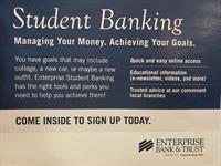 Enterprise Bank & Trust : Student Banking