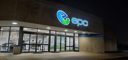 Have you seen our new lighted sign? We're proud to have been part of the technology business for more than 35 years and look forward to helping you!