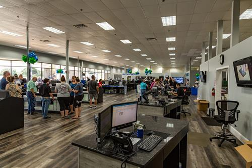 Have you seen the refit of our Retail Showroom? 8800sqft of technology of all kinds! Laptops, desktops, tablets and servers - they're all here for you!