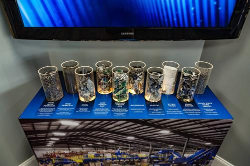 We are an electronics recycling company, experiencing explosive growth! Be sure to visit the display in our Retail Showroom to understand the parts that go into all of it!