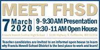 Meet FHSD Open House