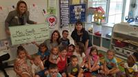 Keough Chiropractic of St. Charles donates over $1800 to St. Charles Early Childhood Center