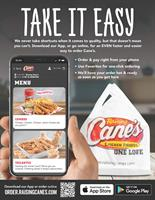Raising Cane's Launches Mobile Ordering