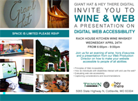 Wine + Web - Understanding Digital Web Accessibility