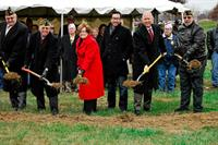 Ground Breaking Ceremony for New Building ( Coming Summer of 2017)