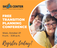 Transition Planning Conference for Young Adults with Disabilities is October 27